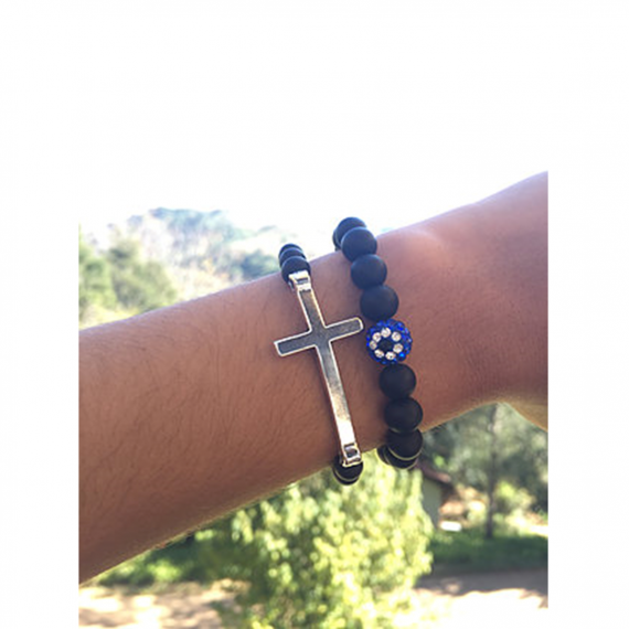 Black Diamante Evil Eye