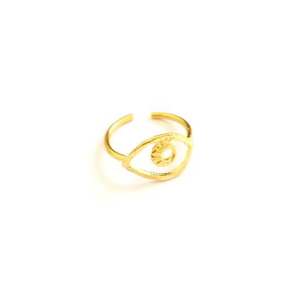Golden Eye Ring1