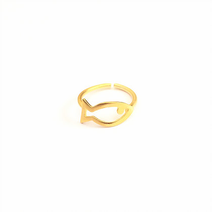 Golden Fish Ring1