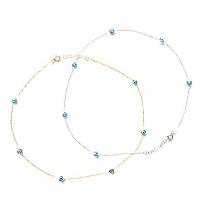 Trio Evil Eye Choker1