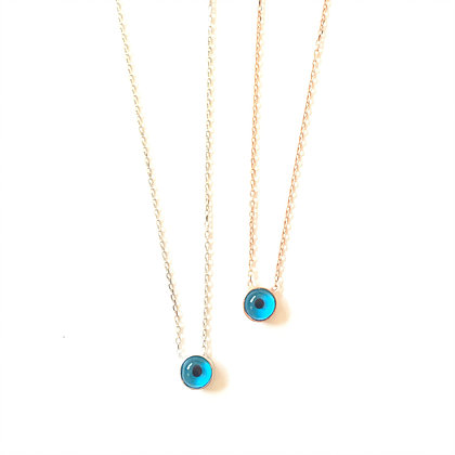 Waterdrop Evil Eye Necklace