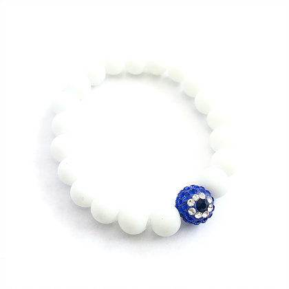 White Diamante Evil Eye1