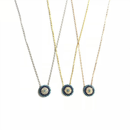 Baby Circular Eye Necklace