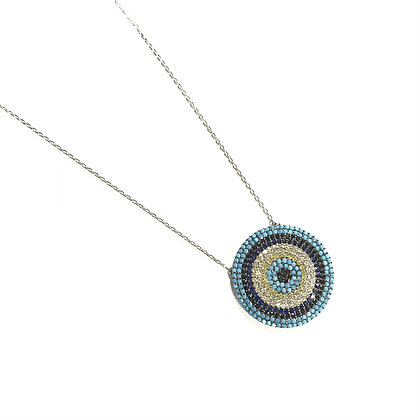 Circular Eye Necklace1