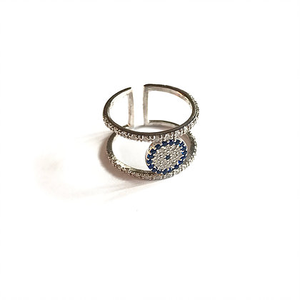 04c76dffdbb9d Double Bar Evil Eye Ring
