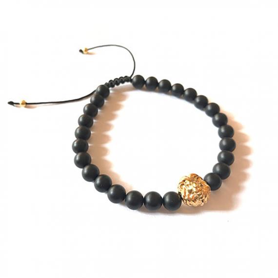 Gold Lion Adjustable Bracelet2