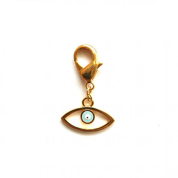 Golden Eye Keyring