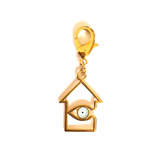 Golden Home Keyring