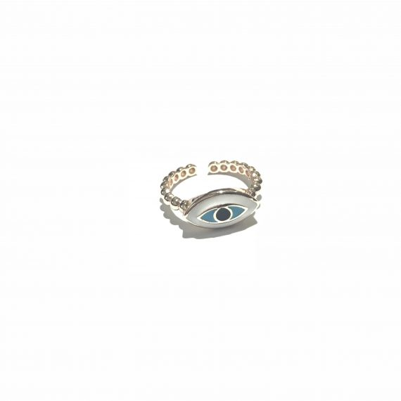 Eye Shaped Rose Ring