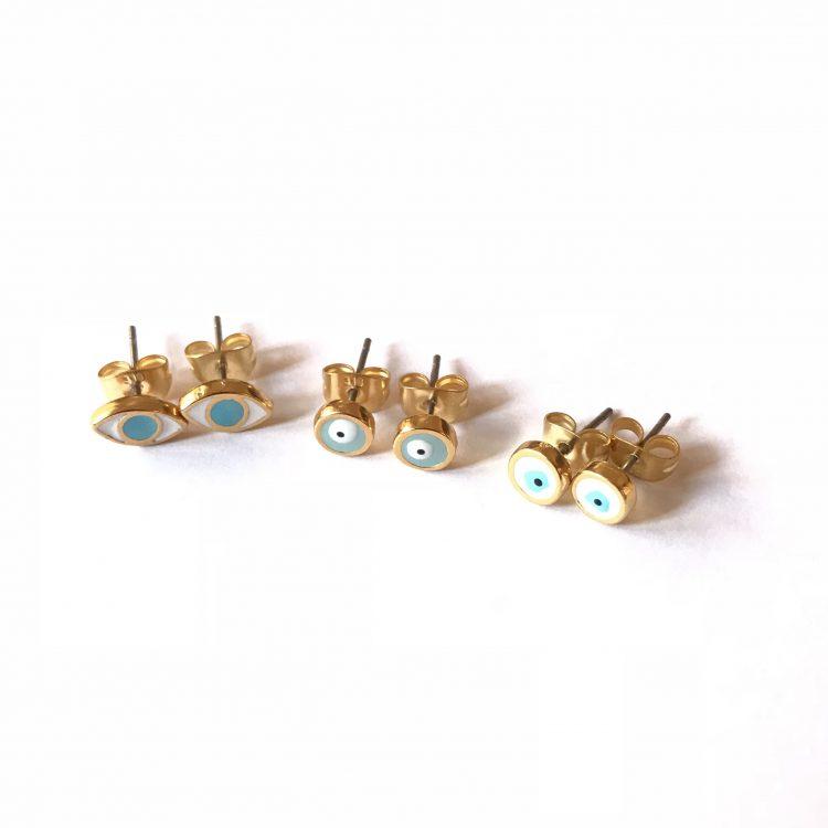 Mati Earring Studs