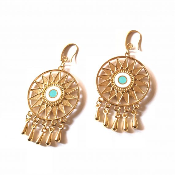Gold Sunlight Earrings