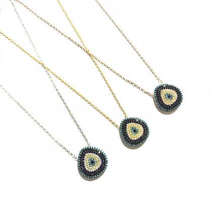 Baby Triangular Eye Necklace