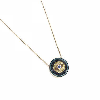 Circular Inner Eye Necklace1