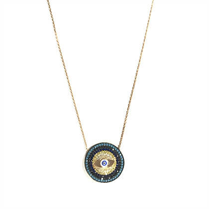 Circular Inner Eye Necklace