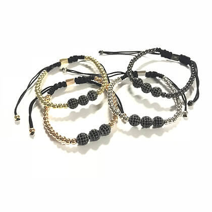 Trio Ball Bracelet