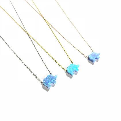 Turquoise Opal Elephant1