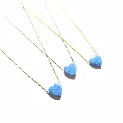 Turquoise Opal Heart1