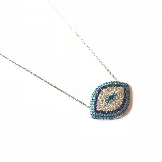Eye Shaped Necklace