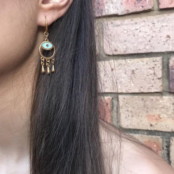 Baby Eye Earrings