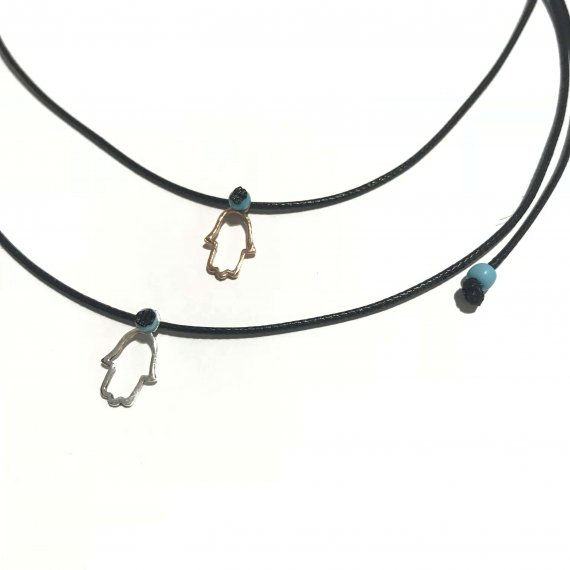 Adjustable Hamsa Choker