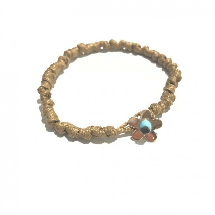 Knotted Flower Bracelet
