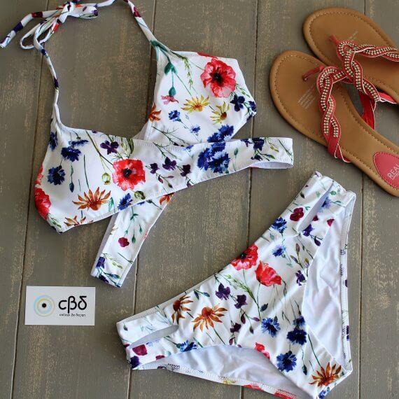 Floral Wrap Bikini