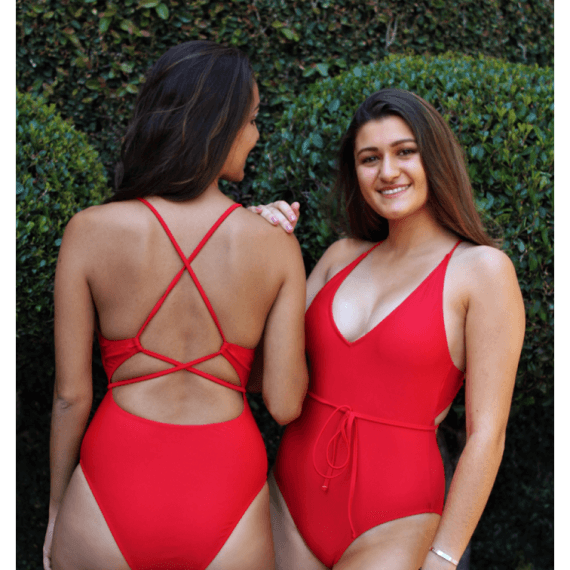 All of Me Red One Piece