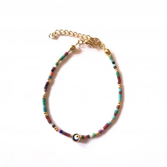 Colourful Beaded Bracelet