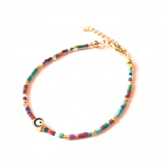Colourful Beaded Bracelet 2