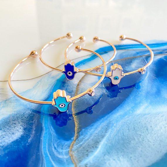 Hamsa Cuff Bracelet