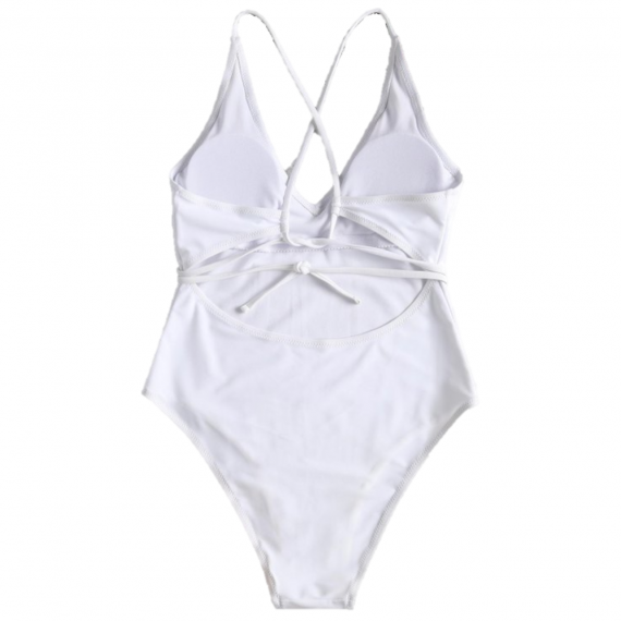 All of Me White One Piece