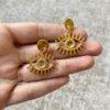 Golden Mati Earrings