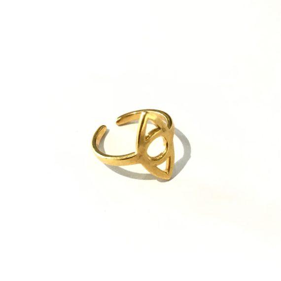 Lengthwise Eye Ring