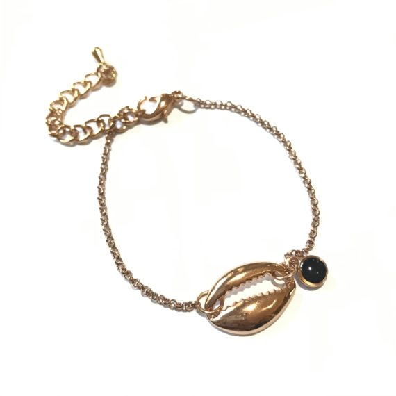 Single Shell Chain Bracelet