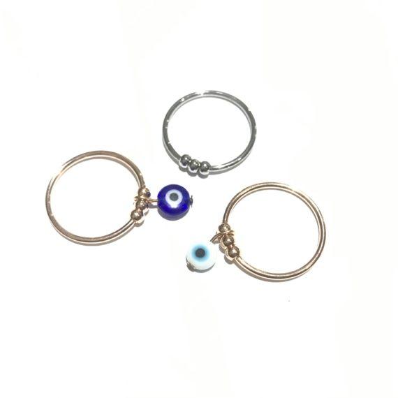 Trio Ball Ring