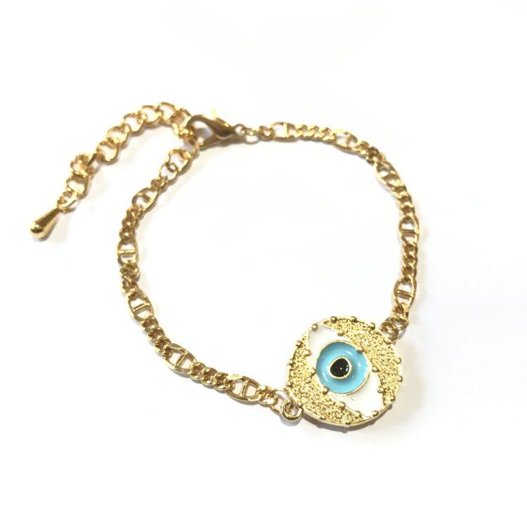 Eyes on You Chain Bracelet