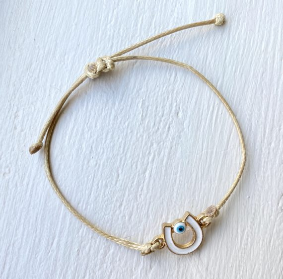 Adjustable Horseshoe Bracelet