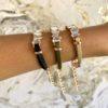 Jagged Crystal Bracelet