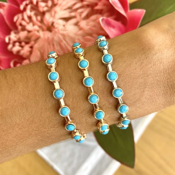 Turquoise Chain Bracelet_1