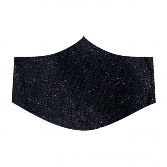 Glitter Black Face Mask