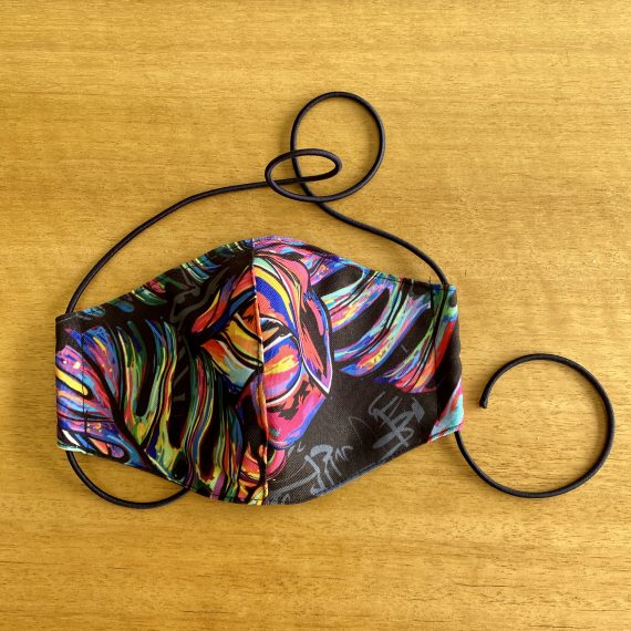 Tropical Rainbow Mask – Female (3 Layer)