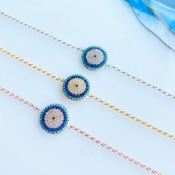 Delicate Crystal Mati Bracelet
