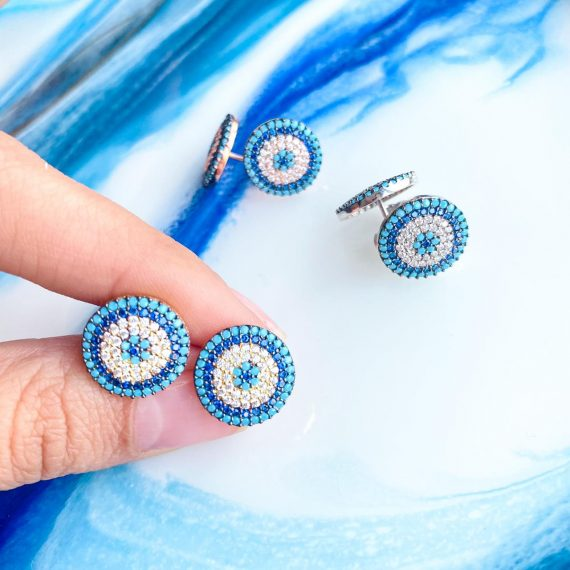 Large Evil Eye Earrings2