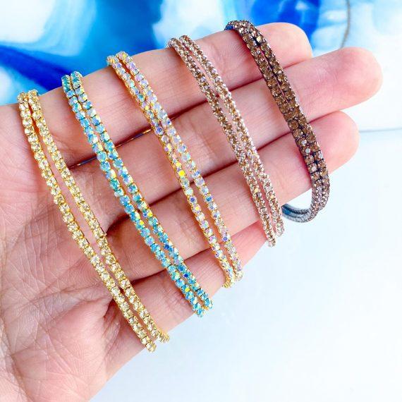 Stretch Crystal Bracelets