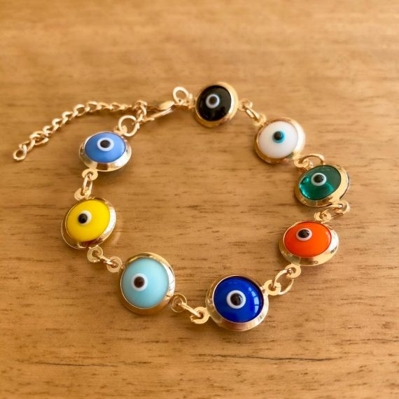 Colourful Glass Bracelet