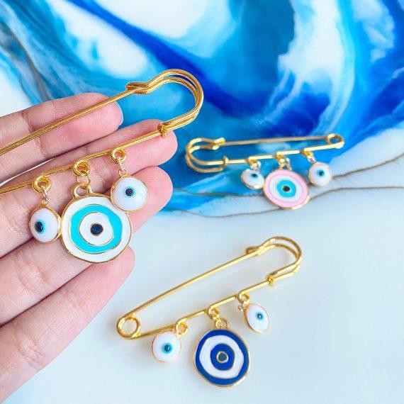 Baby Pins – Coloured Eye 2