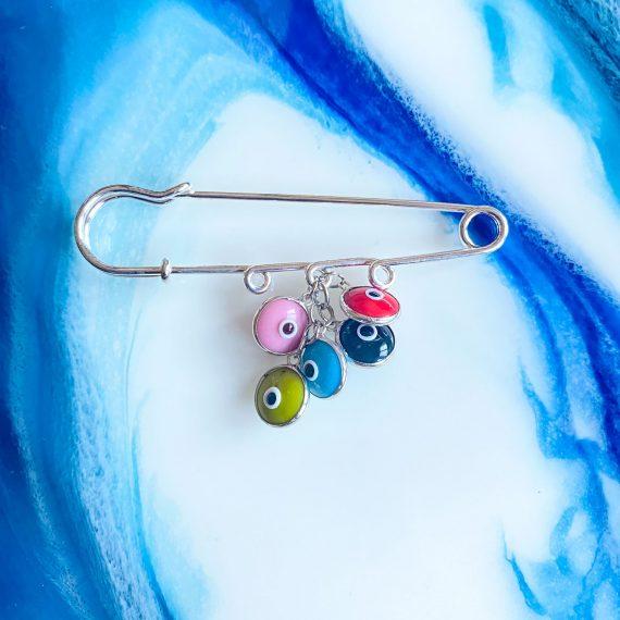 Baby Pins – Multi Eye