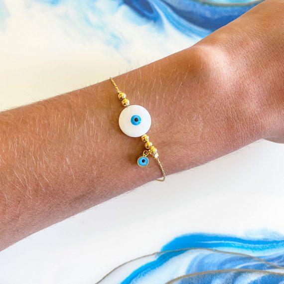 Cicular Pearl Bracelet